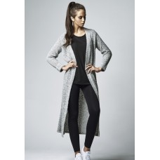 Ladies Boucle Cardigan