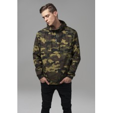Camo Pull Over Windbreaker