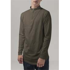 Long Shaped Turtle Zip Longsleeve