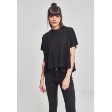 Ladies Overlap Turtleneck Tee